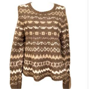 Free People flared bottom sweater